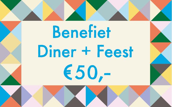 Benefiet diner/feest